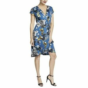 RACHEL Rachel Roy  12 Blue floral dress K7- 07